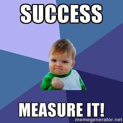 In agile projects, success is not the classic on-time, on-budget, which are easy to measure, but don't necessarily count as success. Visibility matters.
