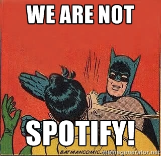 WeAreNotSpotify
