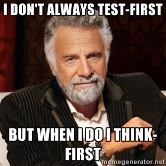 TestFirst