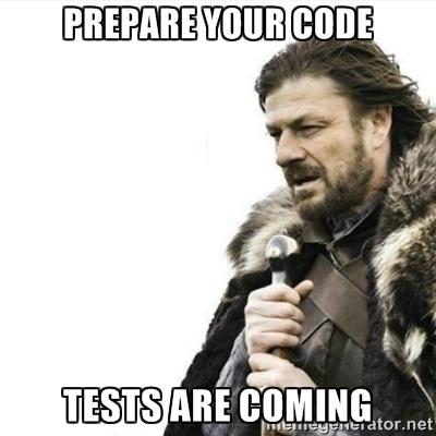 TestsAreComing
