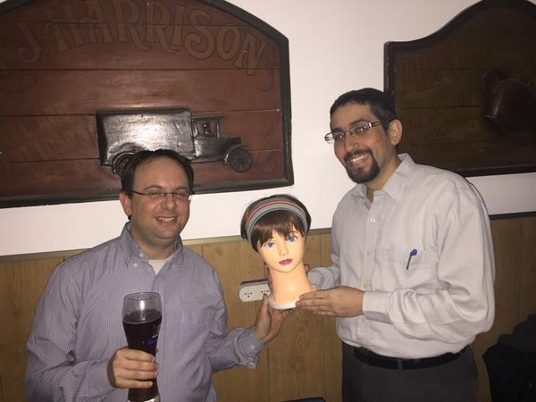 Gil Zilberfeld behind the scenes of the Agile Practitioners conference